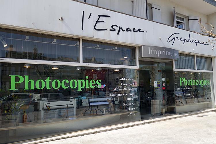 L'ESPACE GRAPHIQUE : impression numérique Libourne